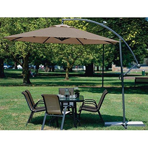 Coolaroo 10 ft Offset Patio Umbrella product image