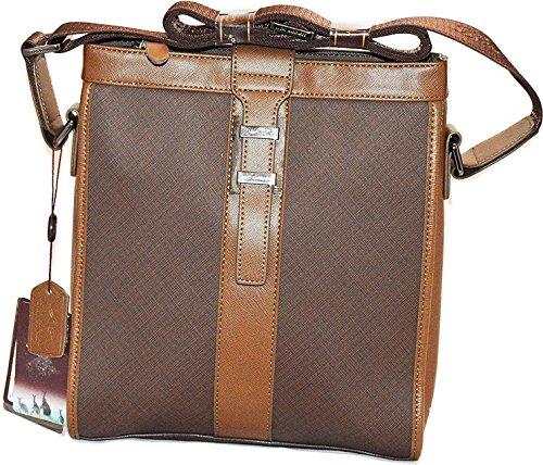Lucky Kangroo , Borsa Messenger  marrone brown