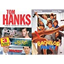 Bachelor Party + The Money Pit / The Burbs / Dragnet Tom Hanks Collection Fun Comedy 80's Family 3 movie Set