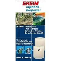 Eheim Filtrantes para Filtros Interiores 2208-2212 Aquaball 60-180 Y Biopower 160-240 (2 Cartuchos)