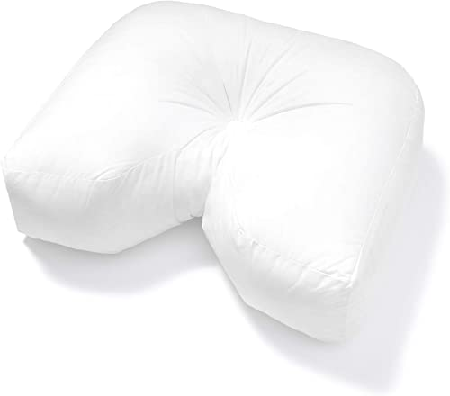 PILLOWS WITH A PURPOSE U Sleep Pillow Designed for Side Sleepers and Neck Pain Relief with Cooling