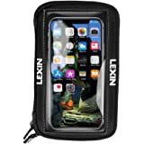 LEXIN LX-MTB03 Motorcycle Tank Bag, Motorcycle Magnetic Phone Holder, Big Size Phone Case for iPhone Android up to 6.5…