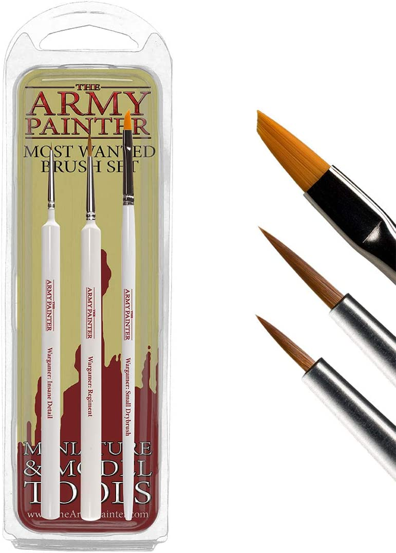 Brushes Army Painter Wargamer Series Detail br7005