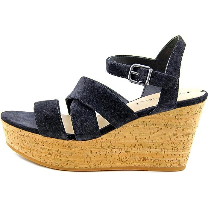 Via Spiga Kendall Wildleder Keilabsätze Sandale: Amazon.de: Schuhe &  Handtaschen