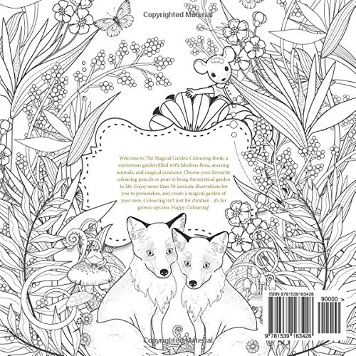 Amazon The Magical Garden Creative Art Therapy For Adults Colouring Books Grown Ups Volume 2 9781539163428 Mel King