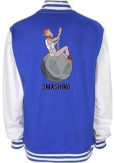 Minamo SMASHING Nigel Thornberry Wrecking Ball Varsity Jacket
