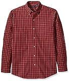 Arrow 1851 Men's Long Sleeve Plaid Hamilton Shirt