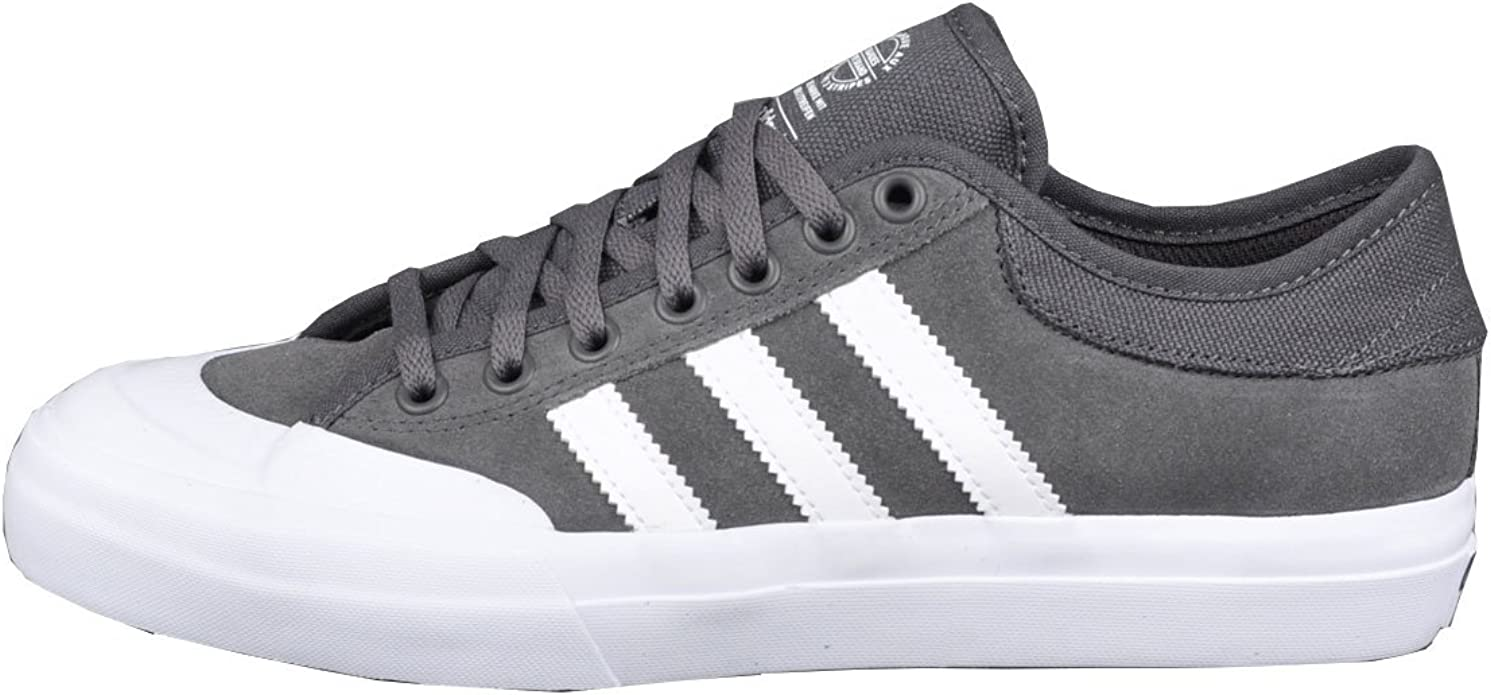 Amazon.com | adidas Matchcourt ADV Skate Shoes - Solid Grey/White ...