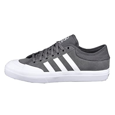 Adidas Matchcourt ADV Skate Shoes - Solid Grey/White - 8.5