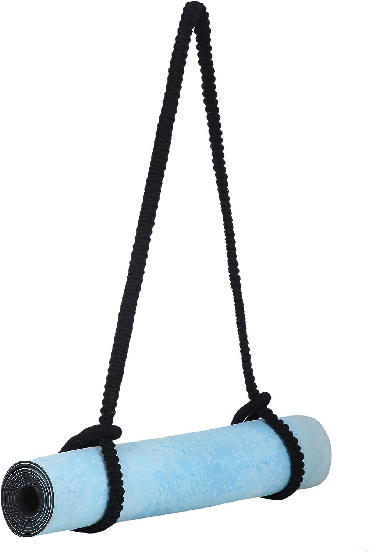 RAJRANG BRINGING RAJASTHAN TO YOU Yoga Mat Strap - Durable Boho Style Macrame Cord Beach Towel Carrier Sling - Extra Long