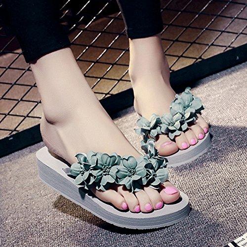 de de los de los Zapatillas Verde deporte verano Zapatillas cómodo Chanclas deslizadores ocasionales azul verde deslizadores de femeninas del de rojo deslizadores MEIDUO sandalias púrpura deporte los nqOvpUYtx