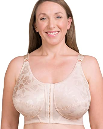 9830c5f441 Posture Support Soft Cup Mastectomy Bra at Amazon Women s Clothing ...