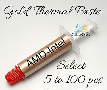 Amazon com: Gold Performance Thermal Paste AMD Intel CPU X
