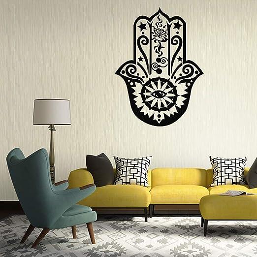 pegatina de pared Vinilos decorativos de yoga indioLucky ...