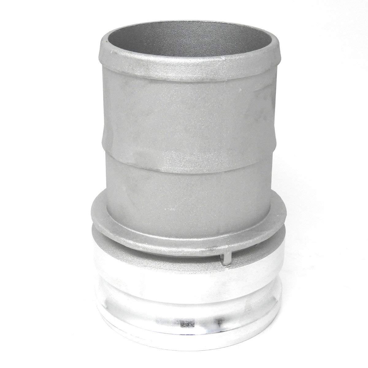 Gloxco Aluminum Type E Cam and Groove Hose Fitting CAM-30-E-AL 3/″ Male Camlock x 3/″ Hose Shank