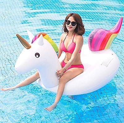 SanXingRui Unicornio Hinchable Flotante Gigante del Unicornio ...