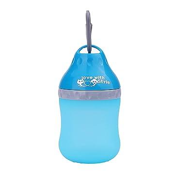 Super Design portátiles al Aire Libre para Perros de Viaje de Agua dispensador de melamina Agua Plegable Bebiendo alimentador Botella para Perro Mejor ...