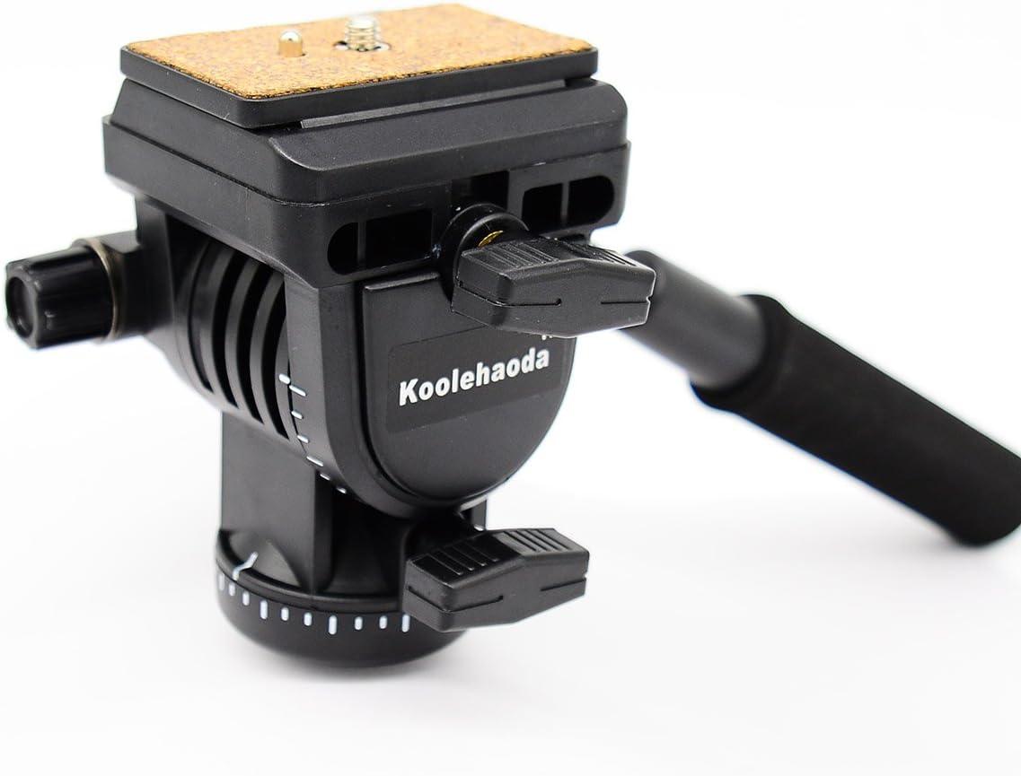 YT-950 Koolehaoda Video Action Fluid Drag Head Hydraulic Damping Ball Head Camera Tripod.