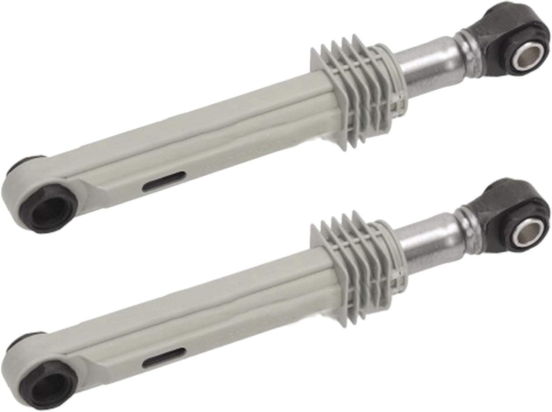 Spares2go Amortiguador de pierna de suspensión para Samsung 80N W2 Type Lavadora (Paquete de 2)