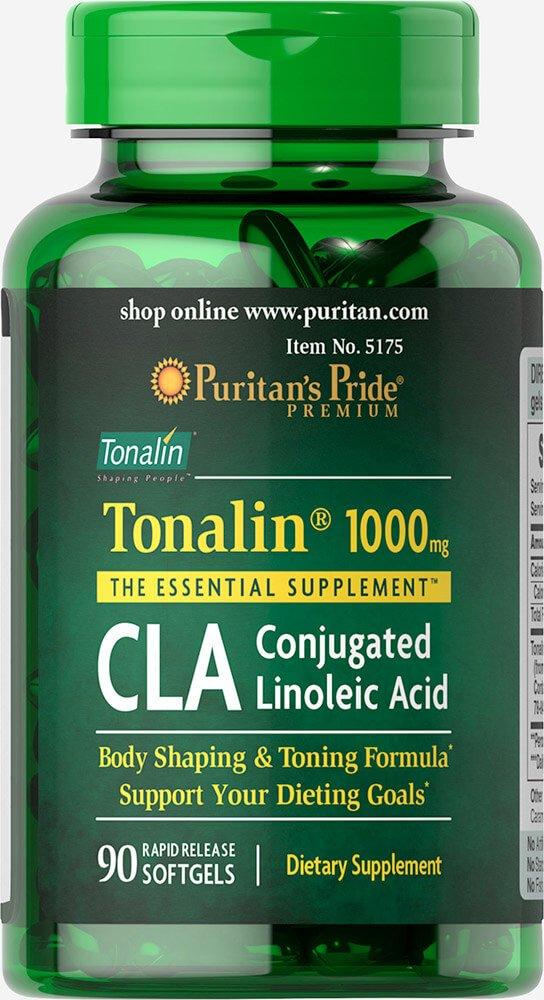 Puritan's Pride CLA 1000 mg Tonalin-90 Softgels