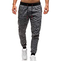 Rajendram Trousers Gym Sweatpants Casual Tracksuit Men Long Casual Sports Pants Gym Slim Fit Trousers Running Joggers Gym Sweatpants
