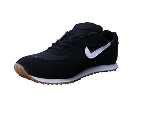 51615abedabb17 ARYANS Men's Black Mesh Sports Shoes: Buy Online at Low Prices in ...