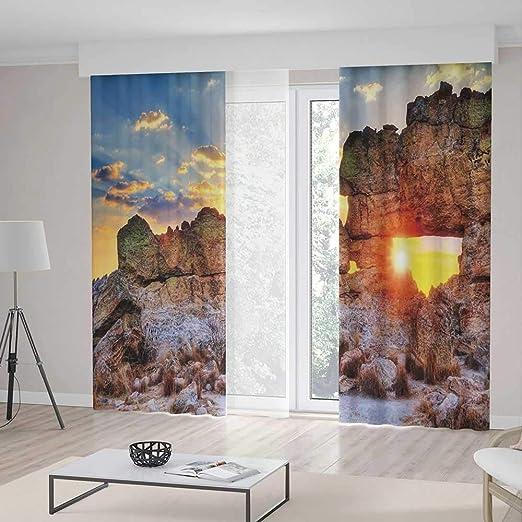 Yoliyana Cortinas Opacas Para Salón Dormitorio Decoración