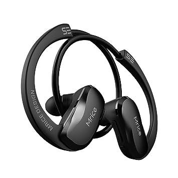 GDSZ Atleta con Auriculares Bluetooth Auriculares Inalámbricos con Oreja Abierta Deportes con Auriculares Estéreo con Micrófono