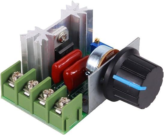 TOPINCN Regulador de Velocidad Temperatura de Variador de Voltaje ...