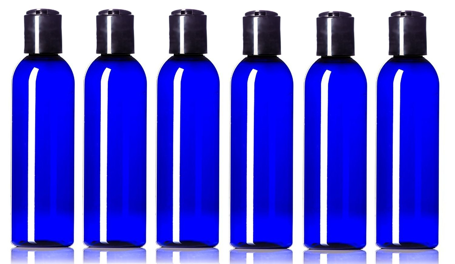 25a6e5fdede3 Newday Bottles, 4 oz Empty Plastic Bottles BPA-Free Leak Proof with Disc  Top Cap Lids Refillable...