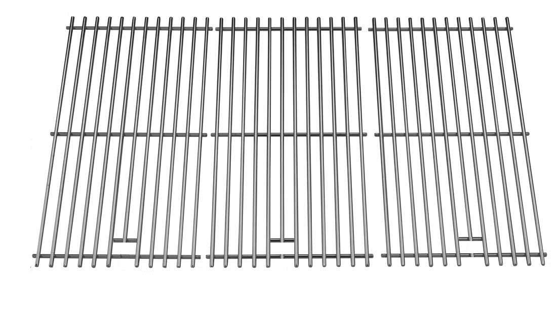 OCEANSIDE Cooking Grid Replacement for Brinkmann 810-3752-F, 810-6570-F, 810-6800-0, 810-6800-B, 810-6805-S, 810-1750-S, 810-1751-S, 810-3551-0, 810-3751-F, Set of 3