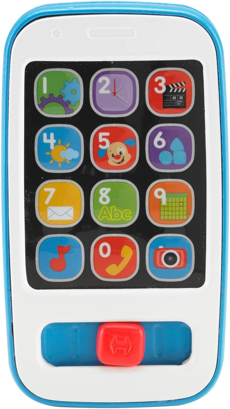 Fisher-Price Laugh & Learn Smart Stages Phone, Blue