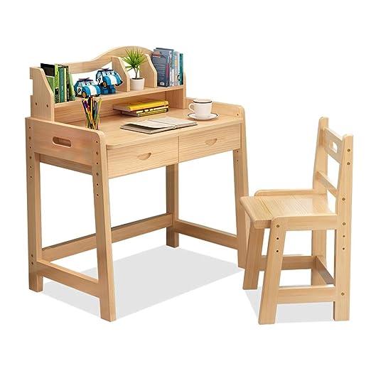 Juegos de mesas y sillas Mesa de estudio y silla. Escritorio de ...