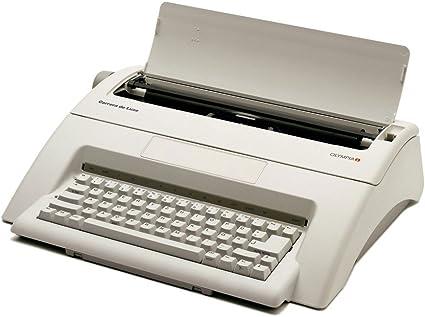 Olympia 252651001 Carrera de luxe - Máquina de escribir, tamaño de ...