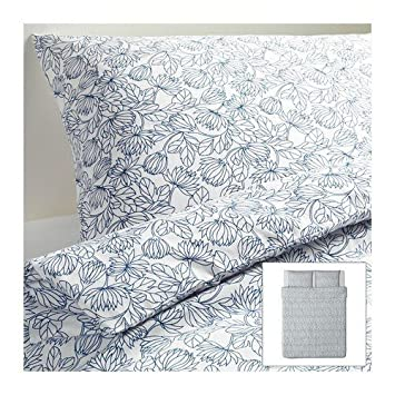 Ikea Bettwäsche Set Bladvass 220x240cm 3 Teilig Amazonde Küche