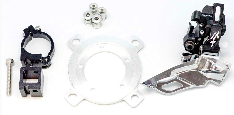 Double Set Tablett MTB für Motor Kurbelgarnitur bafang bbs01 bbs02