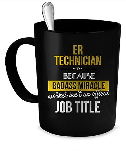 ER Technician Coffee Mug ER Technician Gift 11 Oz