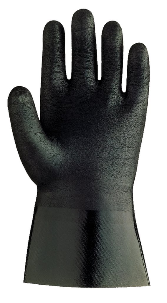 SHOWA 6797R  Neoprene Coated Glove, Cotton Liner, Chemical Resistant, Large (Pack of 12 Pairs) by SHOWA (Image #2)