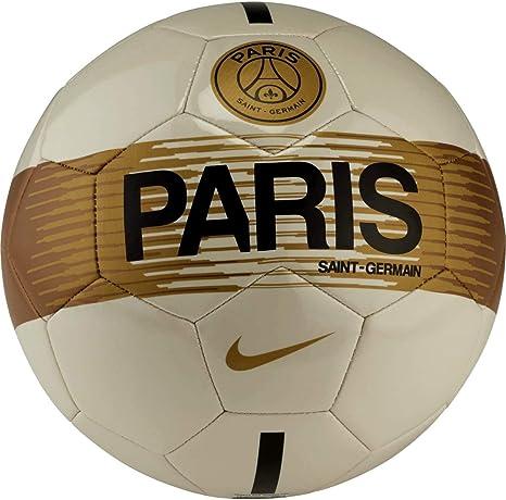 Nike sc3362 – 072 de balón de fútbol Unisex, Light Bone/Negro ...