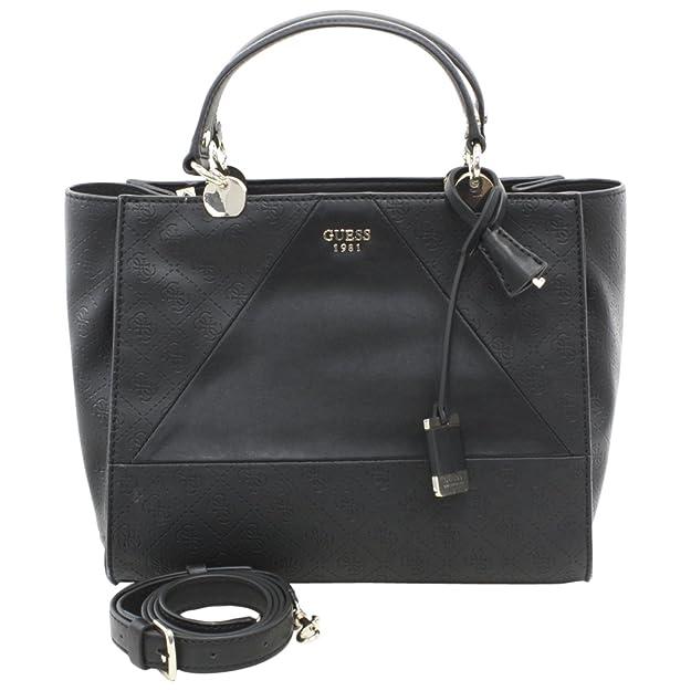 Guess SG653706 Bolso de mano Mujer Piel De imitación Negro TU: Amazon.es: Zapatos y complementos