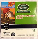 Green Mountain Coffee Limited Edition Autumn Harvest Blend Keurig K-cups 18 Count (5.9 ounces)