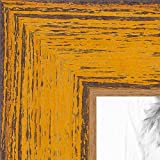 ArtToFrames 8×9 inch Gold Rustic Barnwood Wood Picture Frame, 2WOM0066-77900-YYLW-8×9