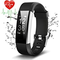 Pulsera Actividad Con GPS,ID115Plus HR Bluetooth Pulsera Intellgente