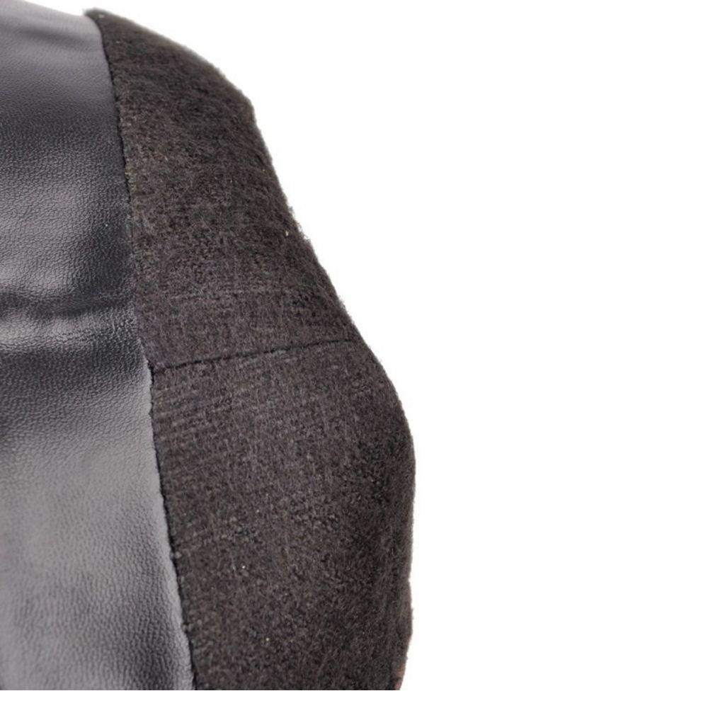 Zanpa Inverno Donna Inverno Zanpa Scarpe tacco a bloccos Lunghi Stivali Oversized  Smooth Black c70792