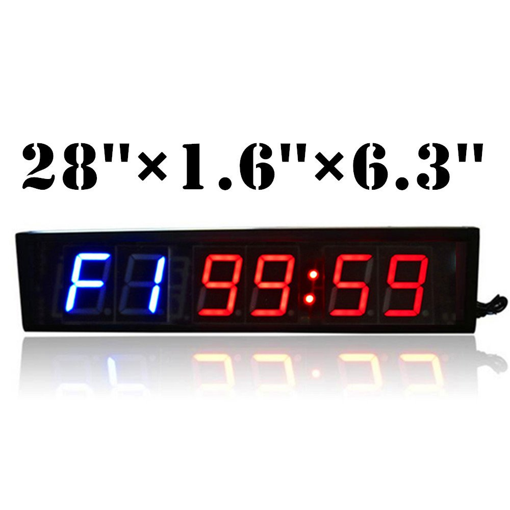 Amazon jumbo gym fitness workout hiit interval training amazon jumbo gym fitness workout hiit interval training crossfit big timer large remote control led digital wall clock sports outdoors amipublicfo Choice Image