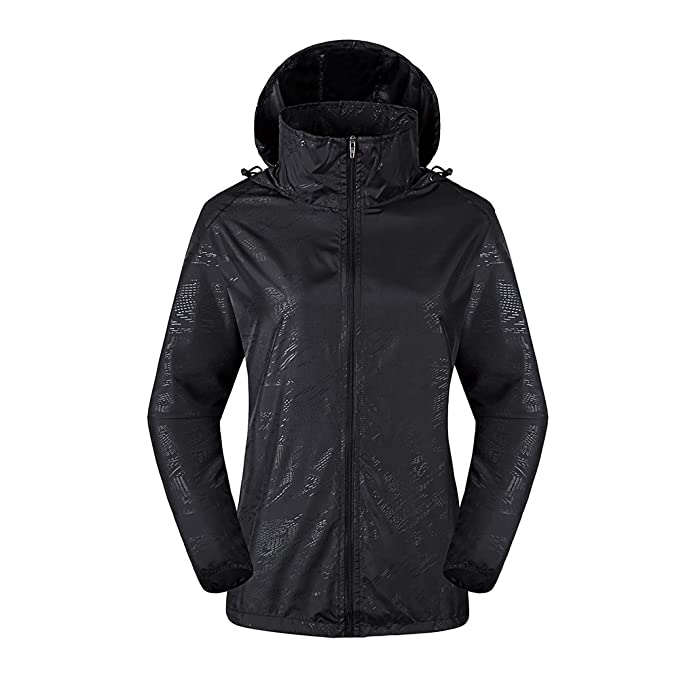 3b63d695747 LeoVera Unisex UV Protect Quick-Dry Lightweight Windbreaker Outdoor Hoodie  Skin Coat Skin Jackets LVPFY118