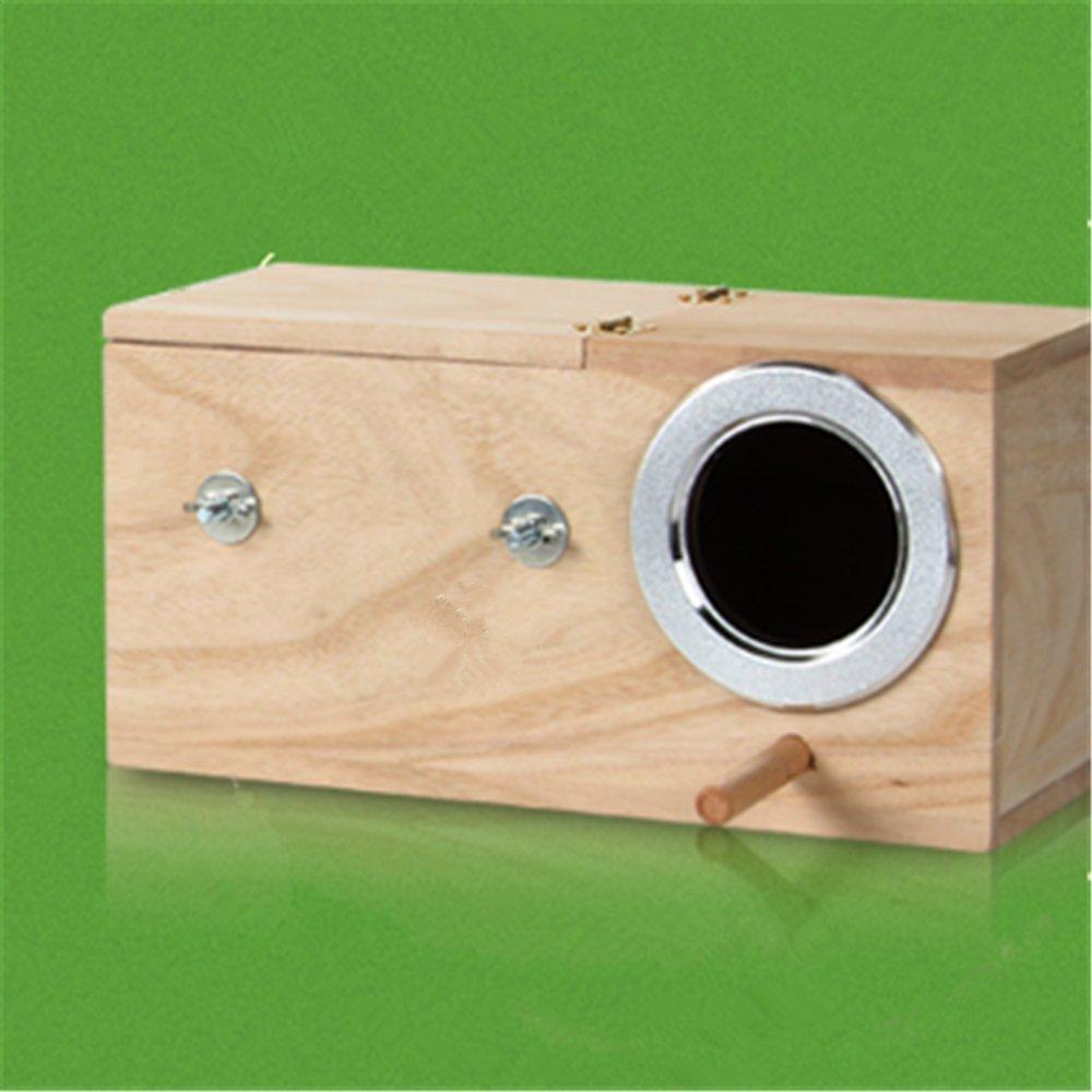 Boying Cockatiel Breeding Nesting Bird Avery - Cage Box