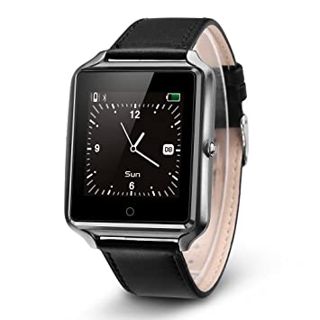 Bluboo Uwatch - Smartwatch Reloj para Móvil Android IOS (LCD 1.44