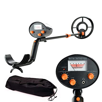 wedigout Metal Detector with Pinpointer Waterproof Search Coil Digging Tool,Pointer Viewer Display(MD