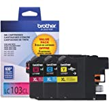 Brother LC103 Ink Cartridge ( Cyan,Magenta,Yellow , 3-Pack )